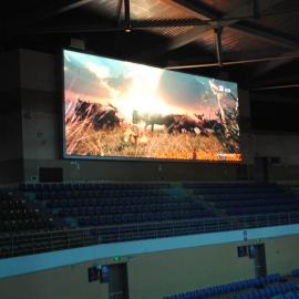 体育馆侧屏幕