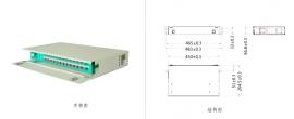24口ODF光纤配线箱 FPF24-ODF--