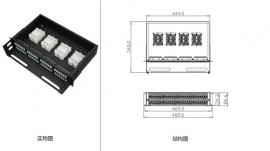 机架式高密度光纤配线箱(2U) FPM02-192