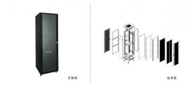 标准E型网络服务器机柜 NCE