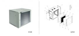 标准B型及E型挂墙式网络机柜 WCB、WCE